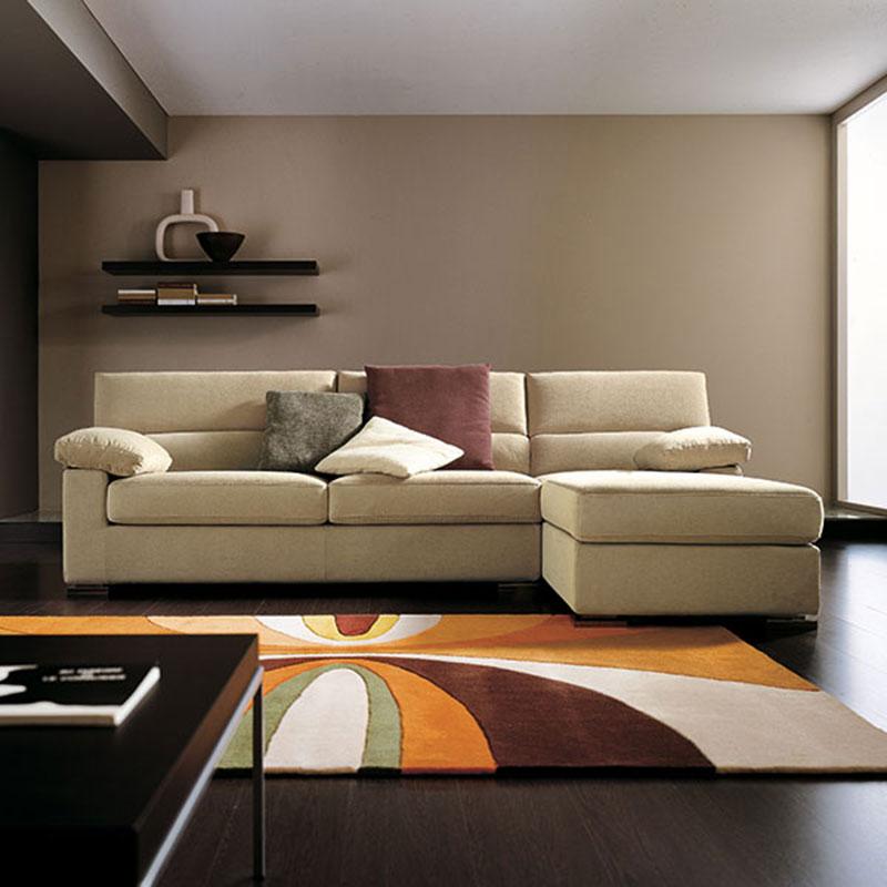 divano con ampia seduta, made in italy sofa