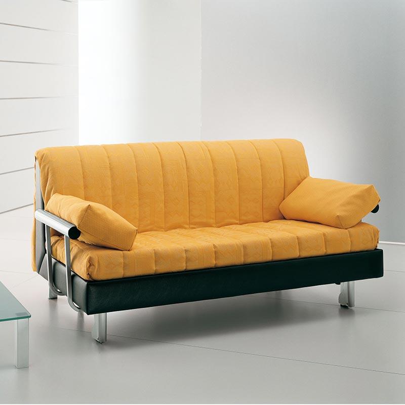 divano letto sfoderabile, fabric sofa bed