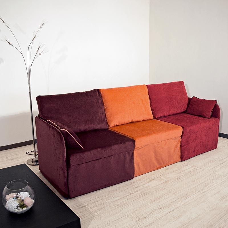 divano letto smontabile, detachable sofa bed