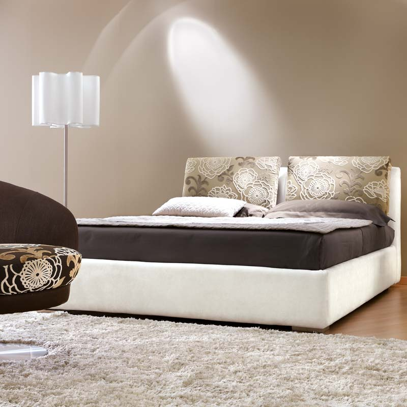 letto nuvola, fabric bed