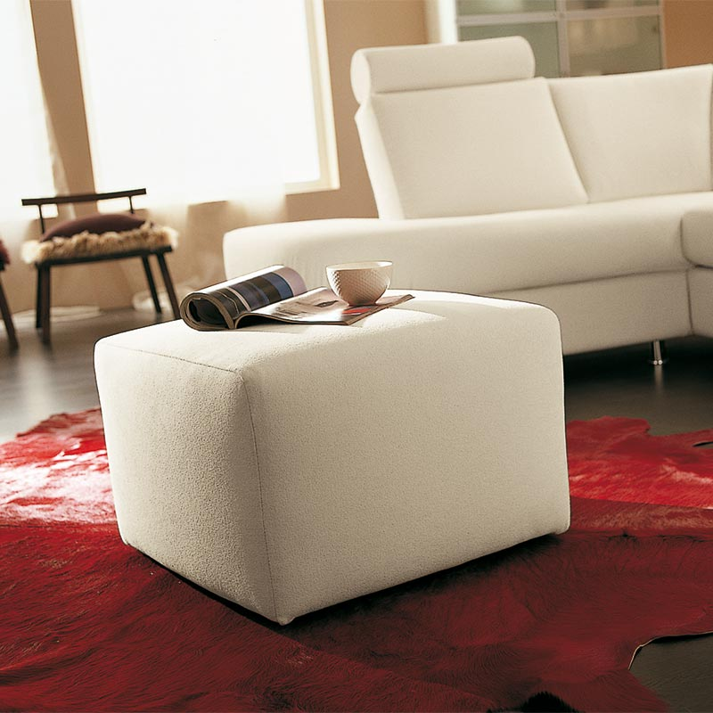 pouf senza cuscino, footstool without pillow